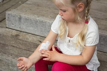 лечение ребенка мазями